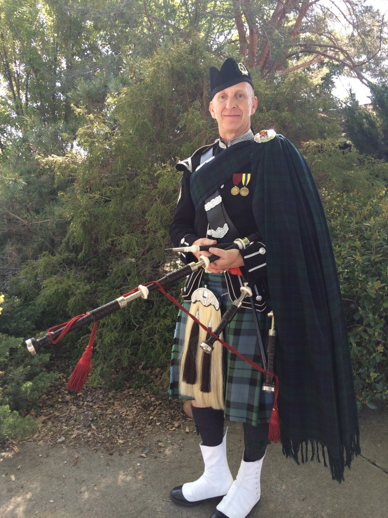 scottish regimental number one dress ancient/modern mackay sean tahoe bagpiper